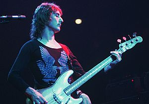 Denny Laine was with the Moody Blues early on long before joining Wings.